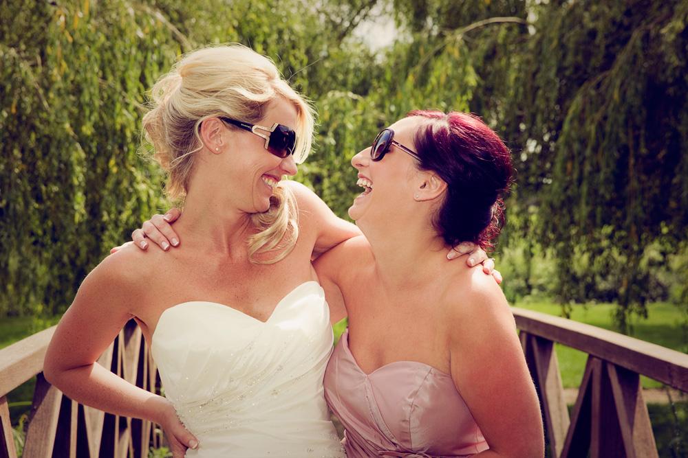 Candid Bridesmaid
