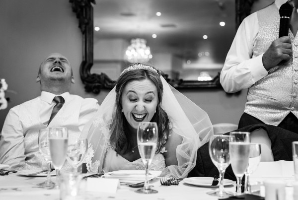 The speeches during a Swettenham Arms Wedding