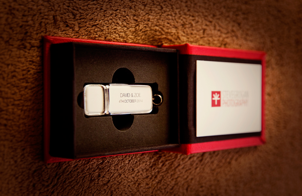 USB packaging open box
