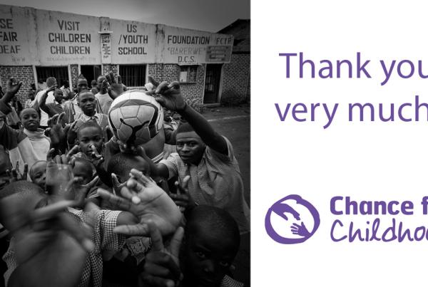 Chance For Childhood and Steve Grogan Photography help to raise £119 for Chance For Childhood