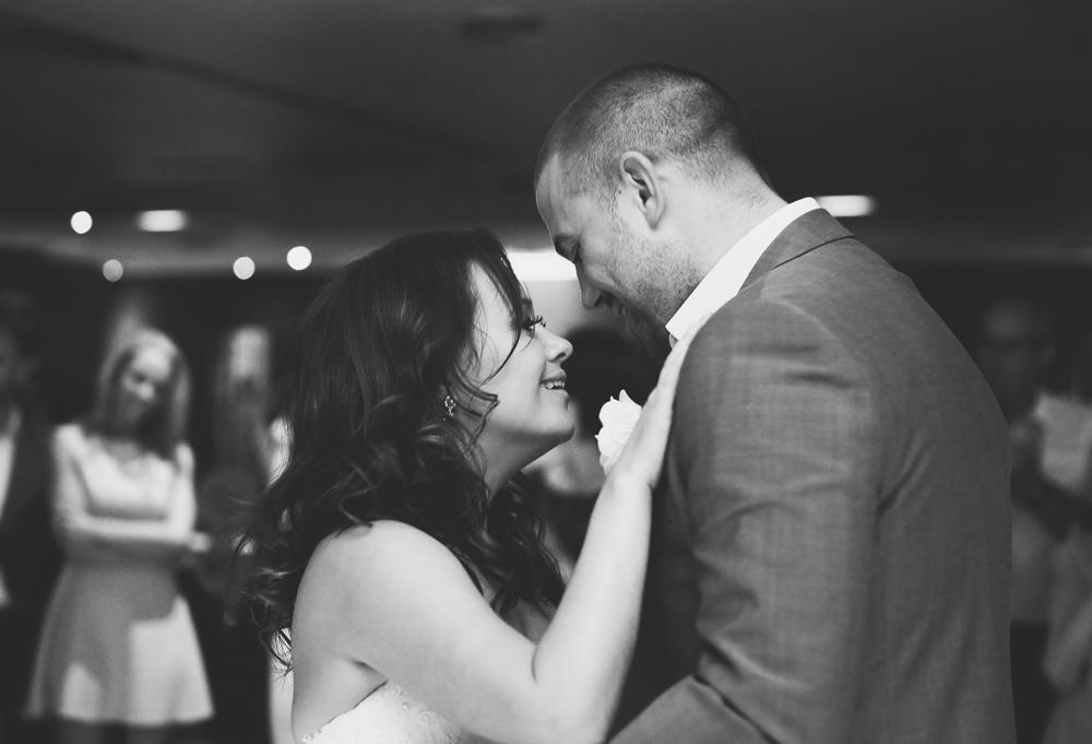 First Dance of Andy & Jen Manchester Wedding Photography