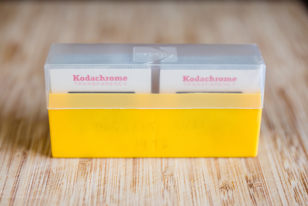 Kodachrome Film Slides