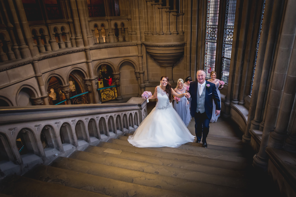 Hayley & Dan at Manchester Town Hall and The Midland Hotel