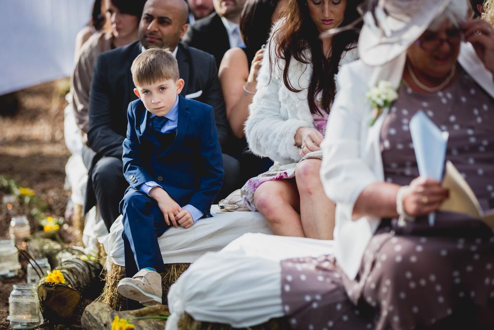 Trafford Hall Outdoor Wedding
