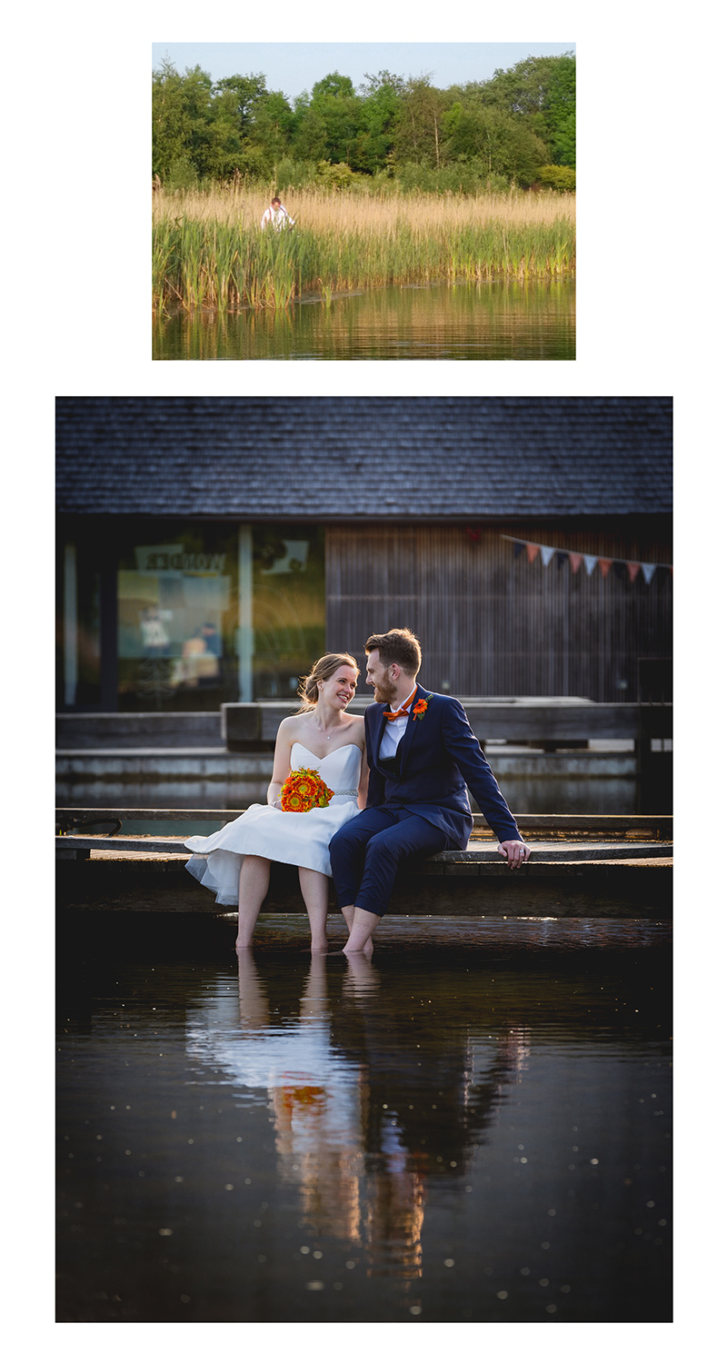 Brockholes Nature Reserve Wedding