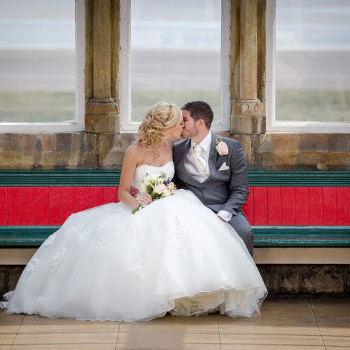 Michelle and Chris at the Grange Hotel in Cumbria