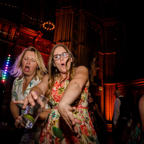 Dance floor action at Manchester Town Hall