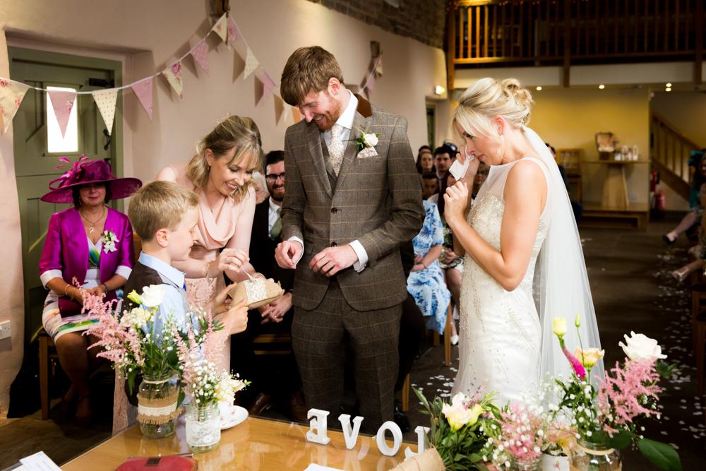 Ashes Barns Wedding