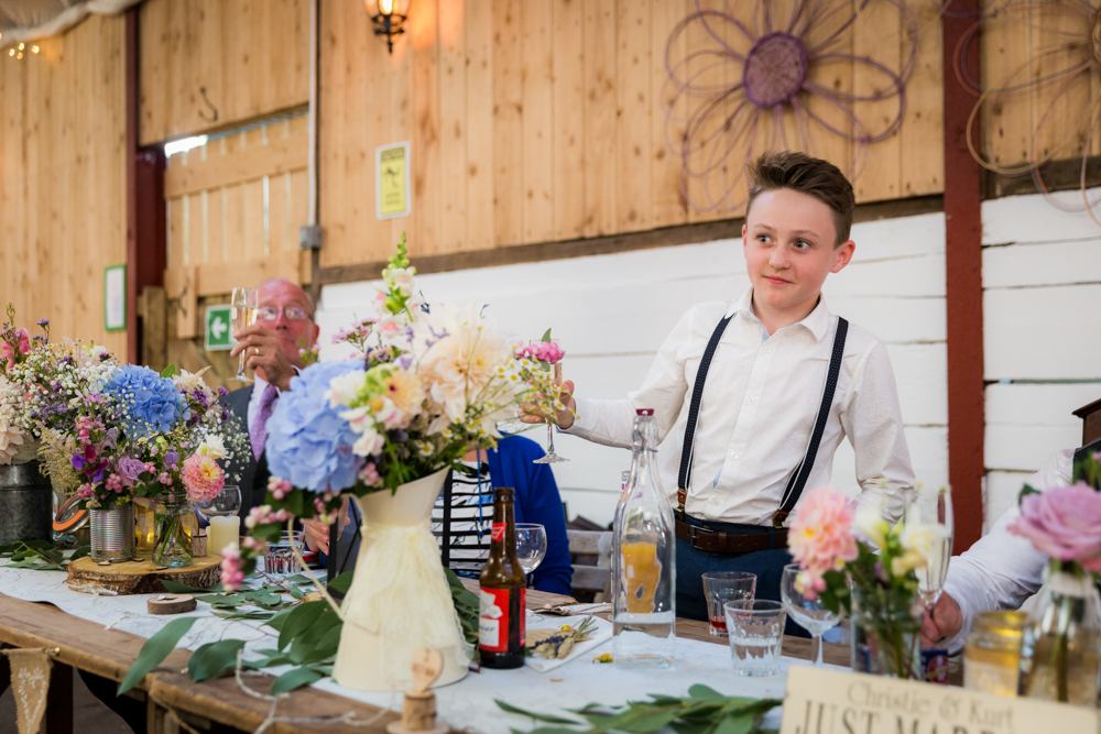Wellbeing Farm Wedding