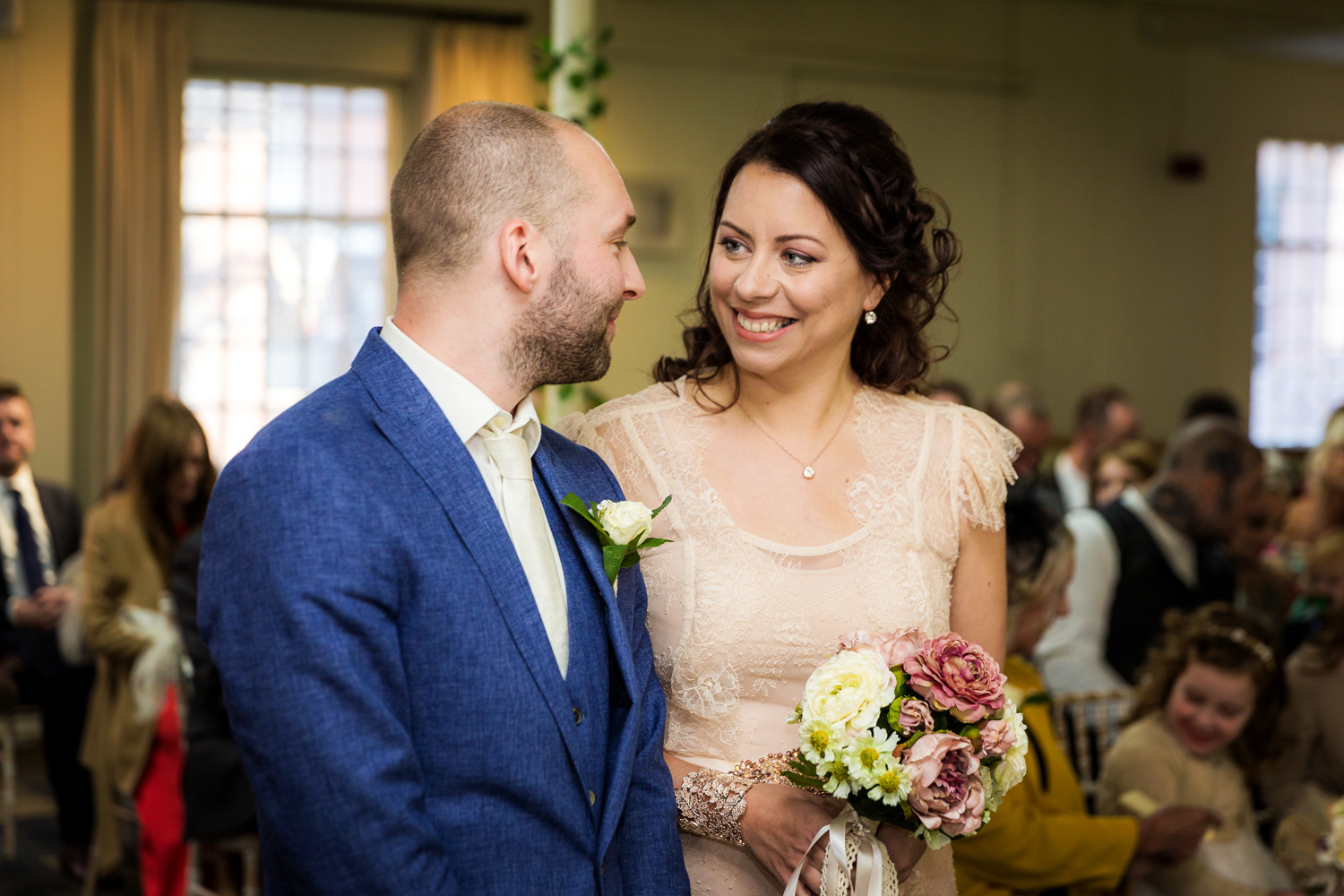 A National Trust wedding at Quarry Bank Mill