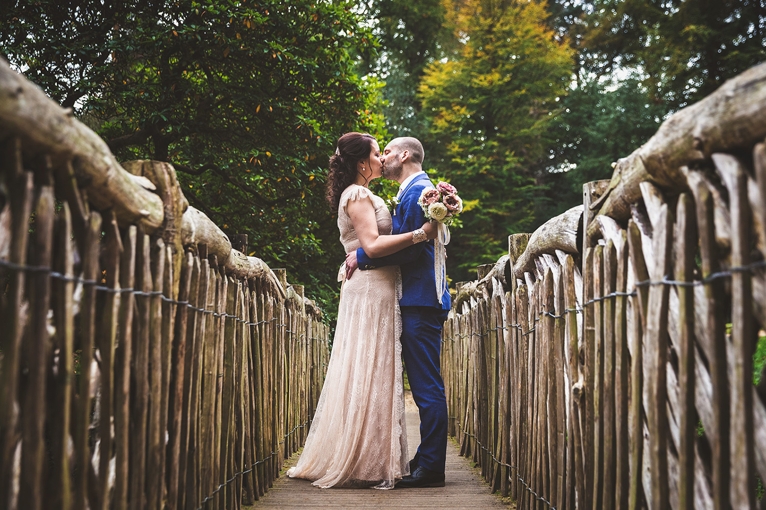 Clair and Paul's Quarry Bank Mill wedding