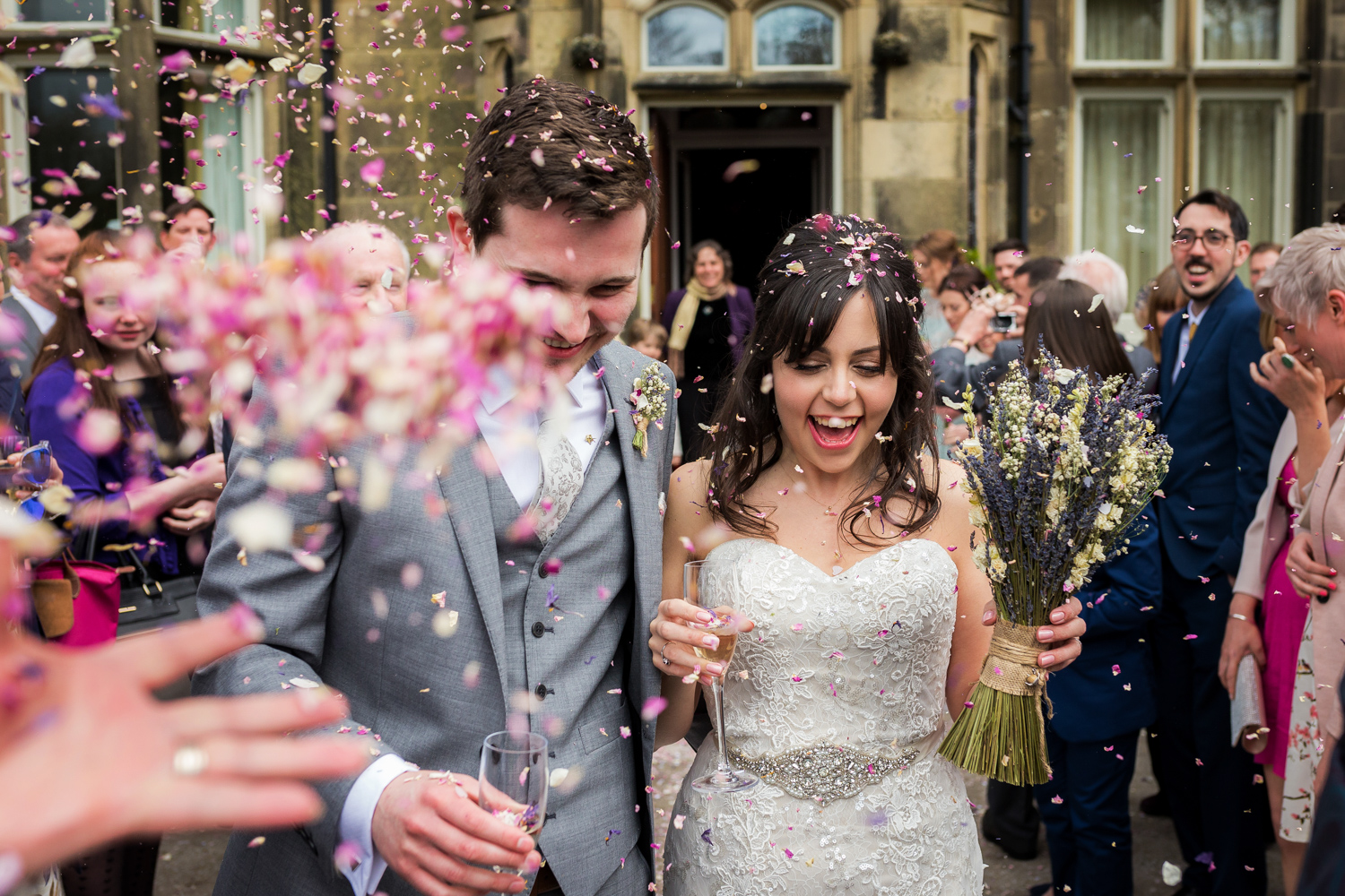 Hargate Hall Wedding in Buxton