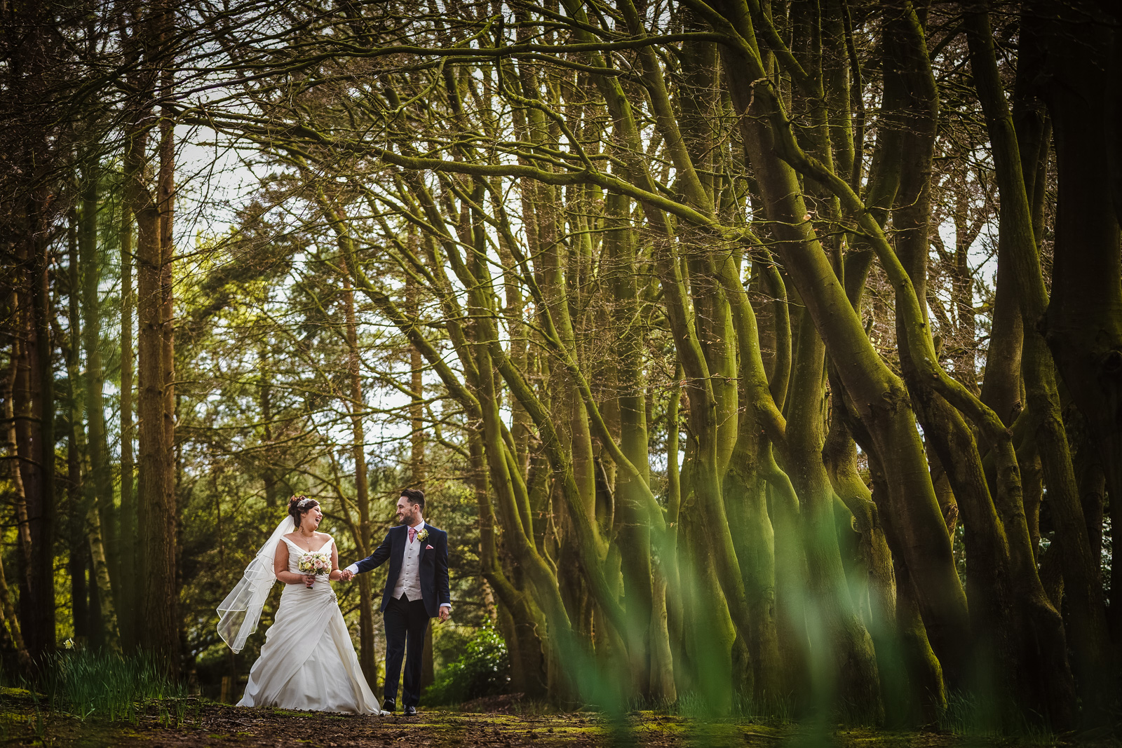Jen & Ross's Nunsmere Hall Wedding
