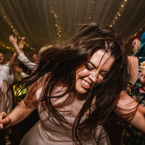 Party time during a wedding in Preston