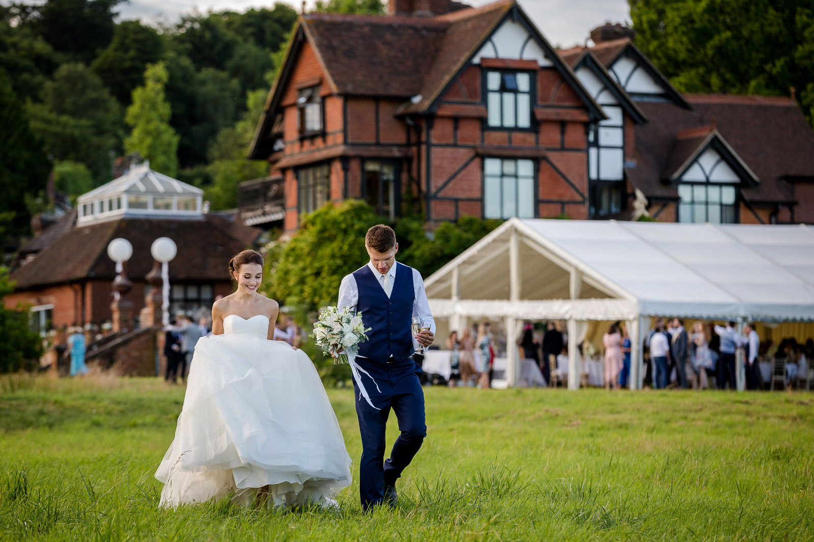 Hambledon House Wedding in Surrey