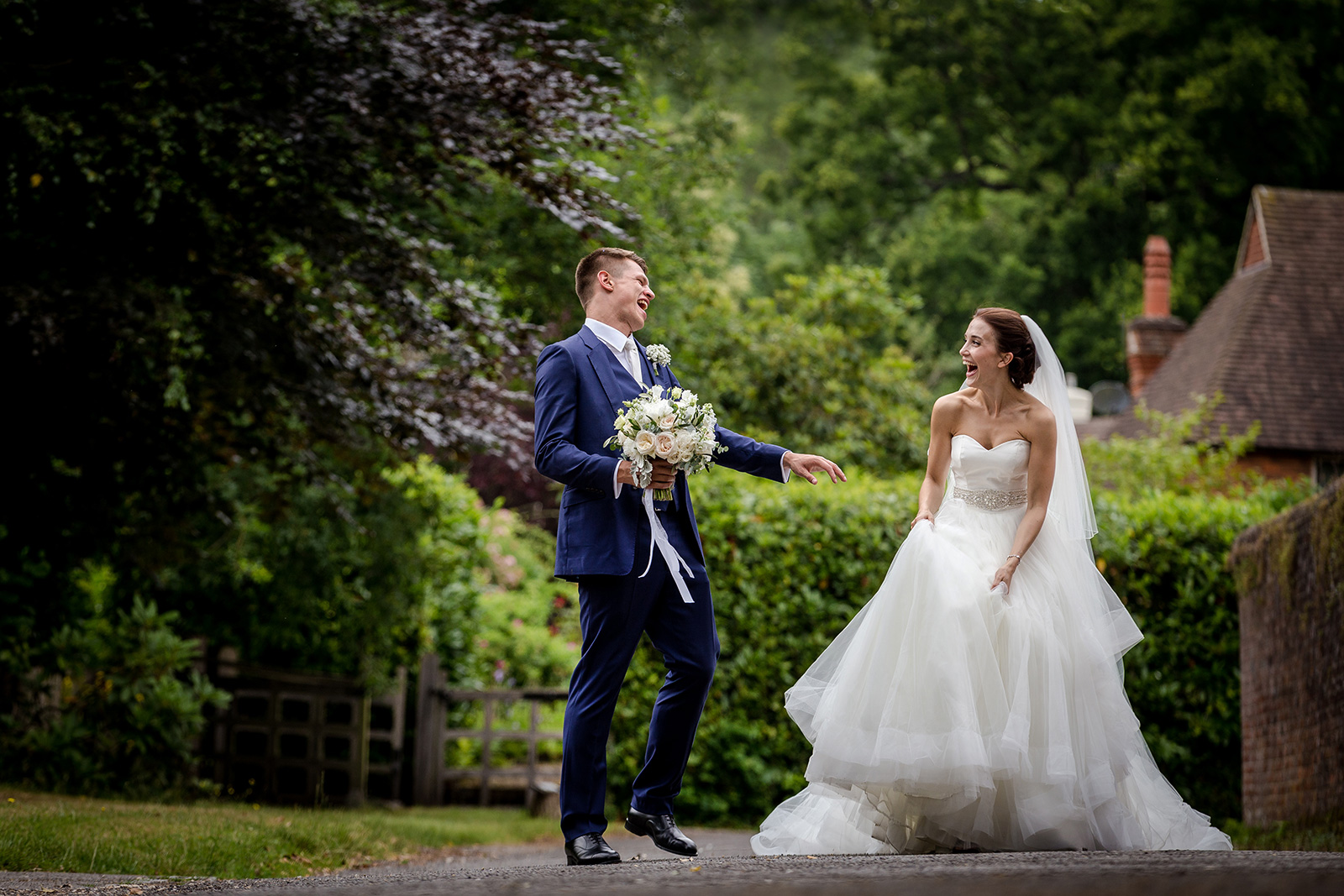 Charlotte & Alex's Hambledon House wedding in Surrey
