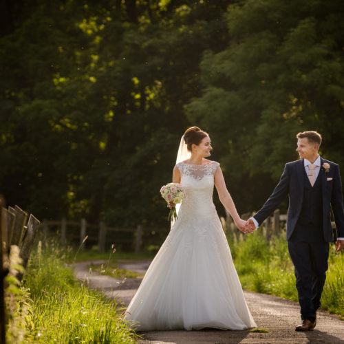 Bryony & Gary at the Villa in Wrea Green