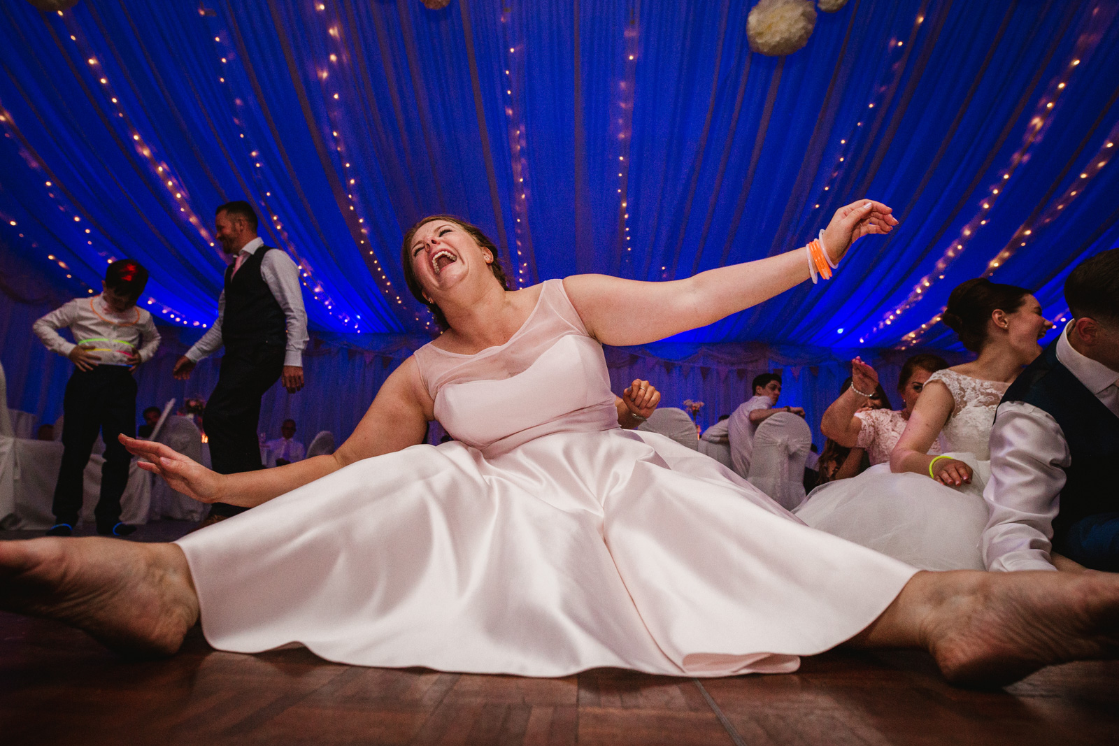 Gary and Bryony's wedding at the villa wrea green