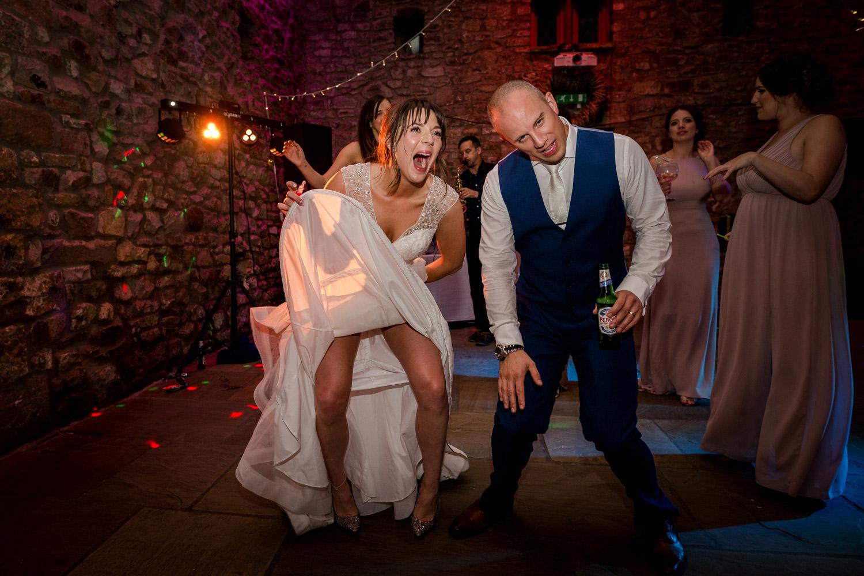 Browsholme Hall Wedding Reception