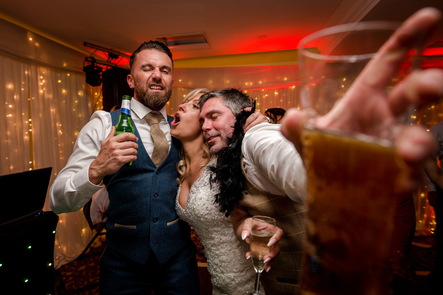 Party time at Billesley Manor Hotel