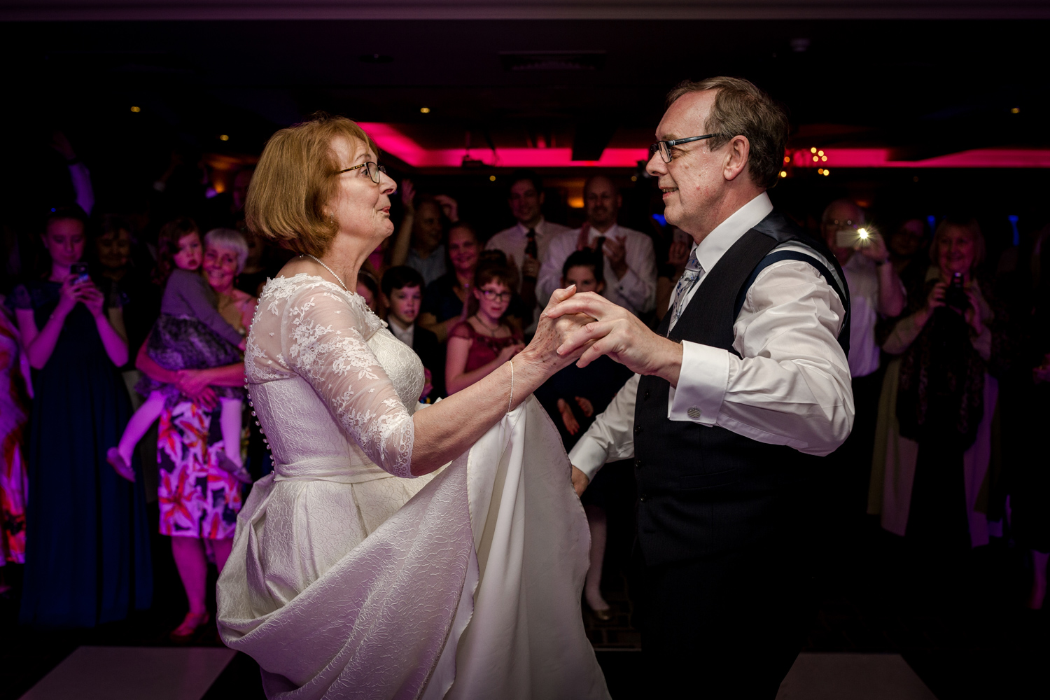 First dance at the cottons hotel