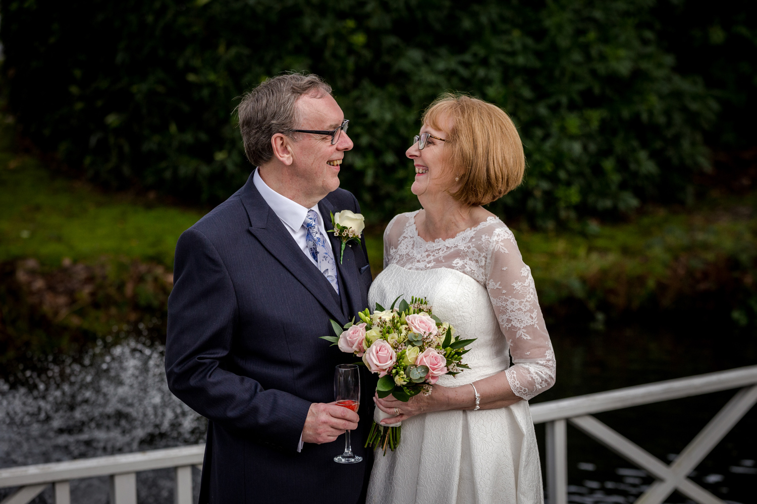 Linda and Roger at the Cottons Hotel and Spa in knutsford