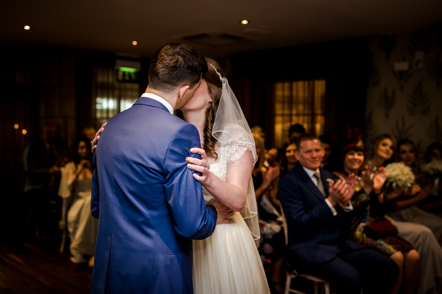 First kiss at Great John Street Hotel in Manchester