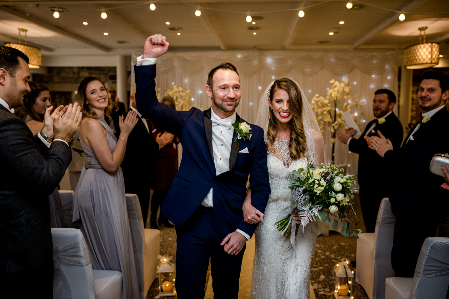 Just married at Stanley House Hotel & Spa