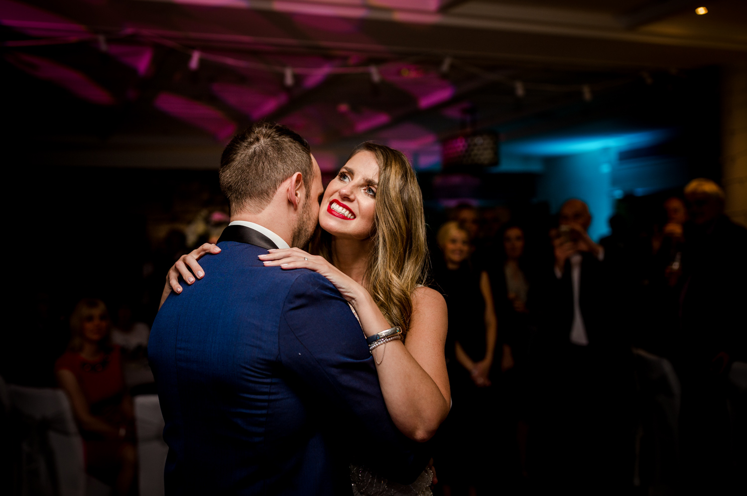 The first dance at Stanley House Hotel