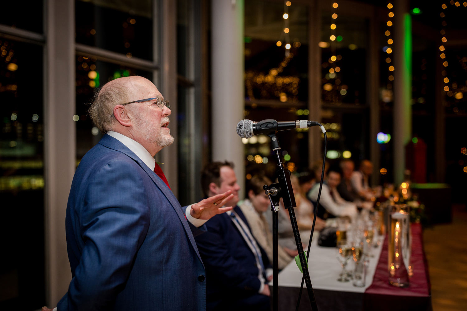 Father of the bride speech at The Lowry Wedding