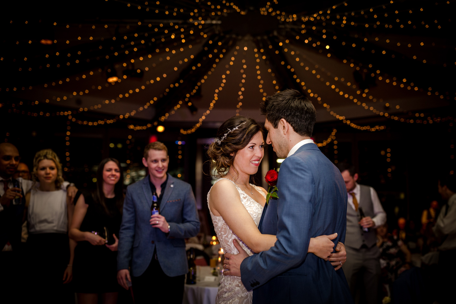 The first dance during a Lowry Wedding