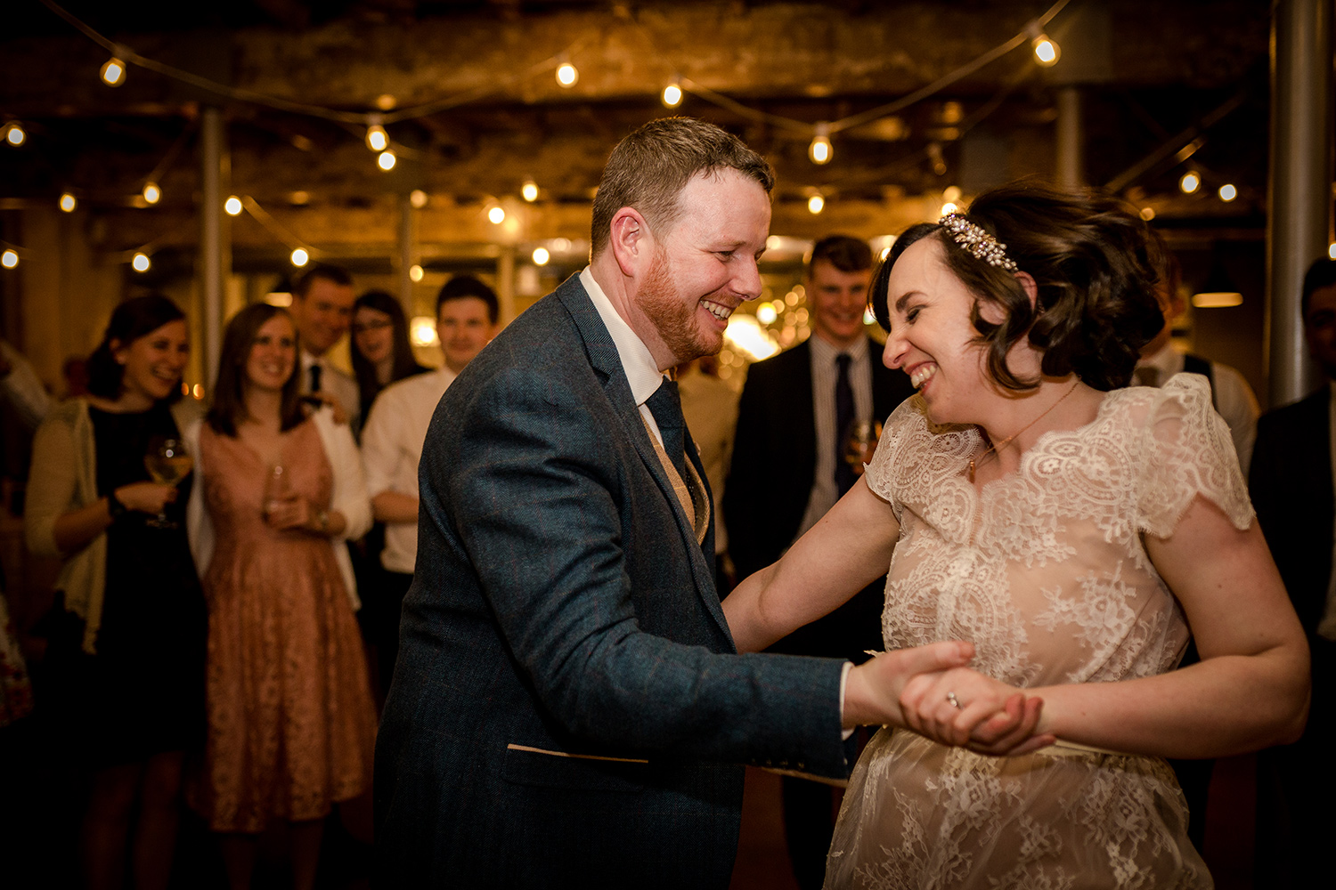 First Dance at Holmes Mill in Clitheroe