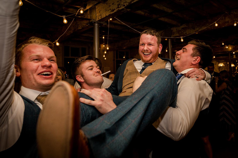 Wedding reception at a Holmes Mill Wedding
