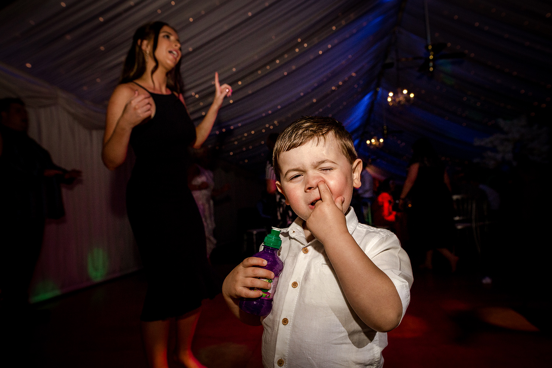 Heaton House Farm Wedding Party