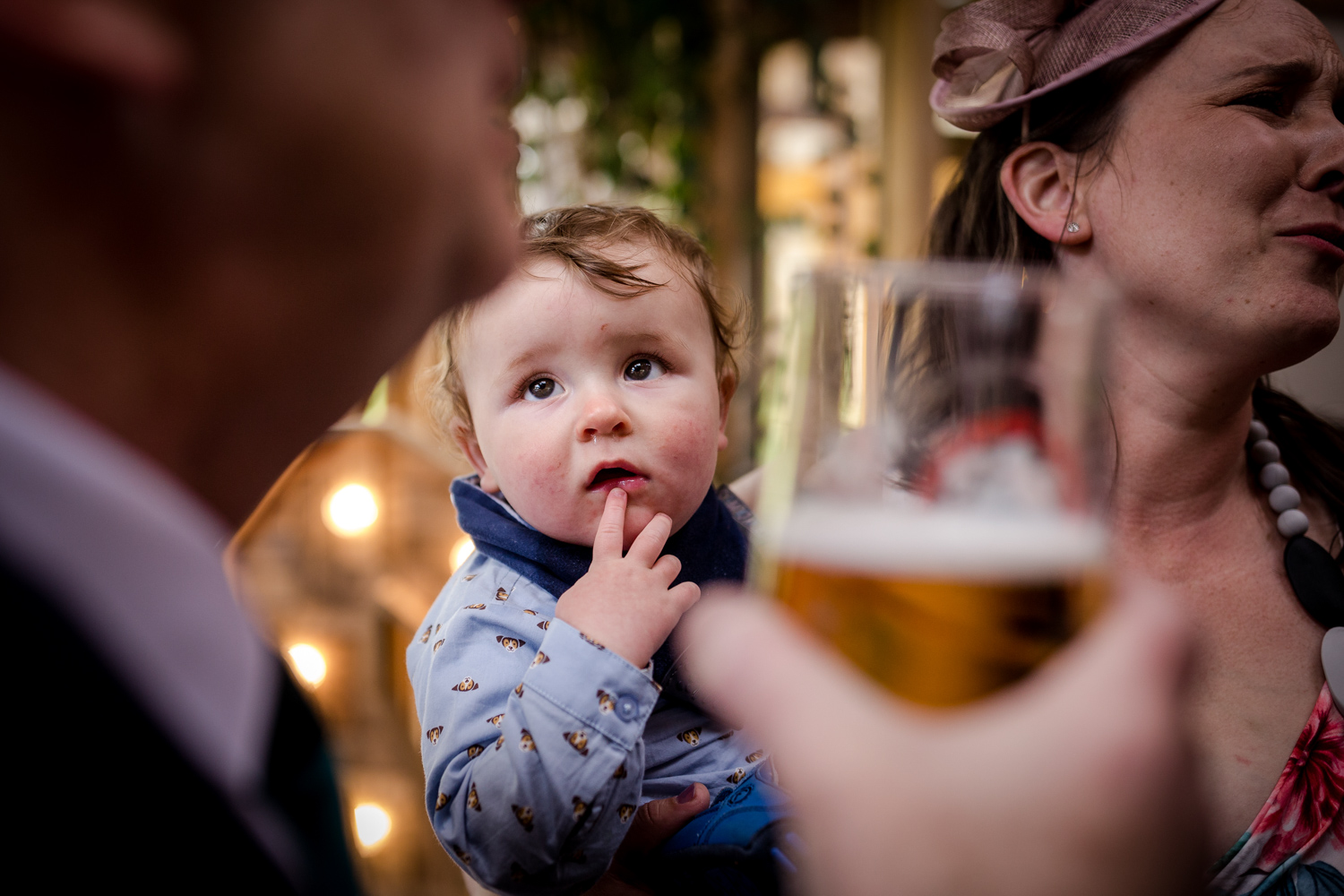 Baby at the Oak Tree in Peover