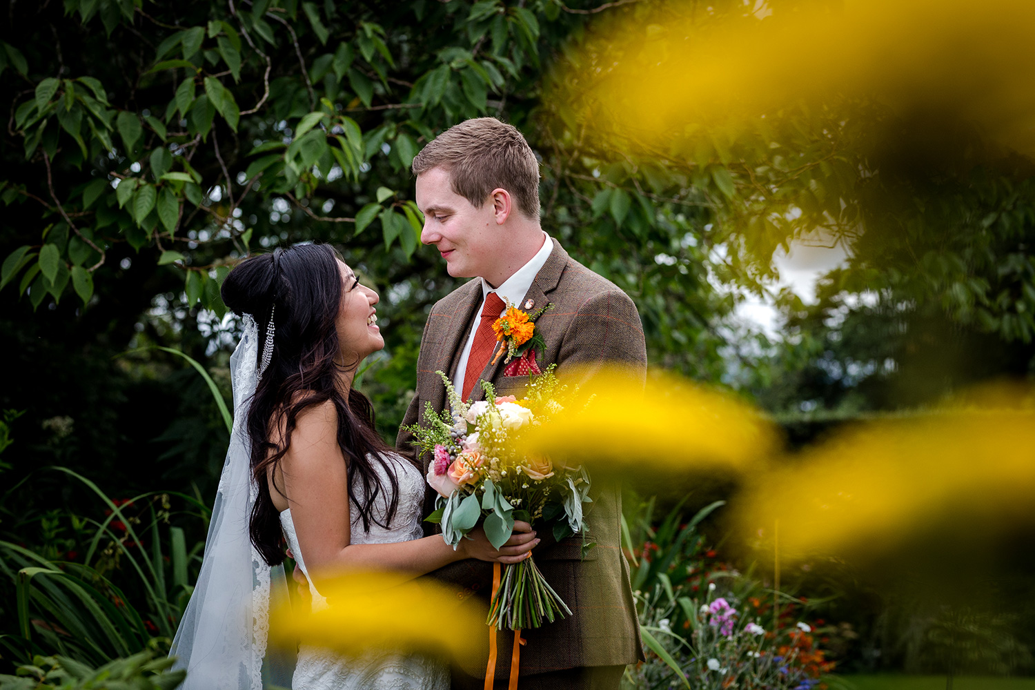 Hilltop Country House Wedding in Cheshire