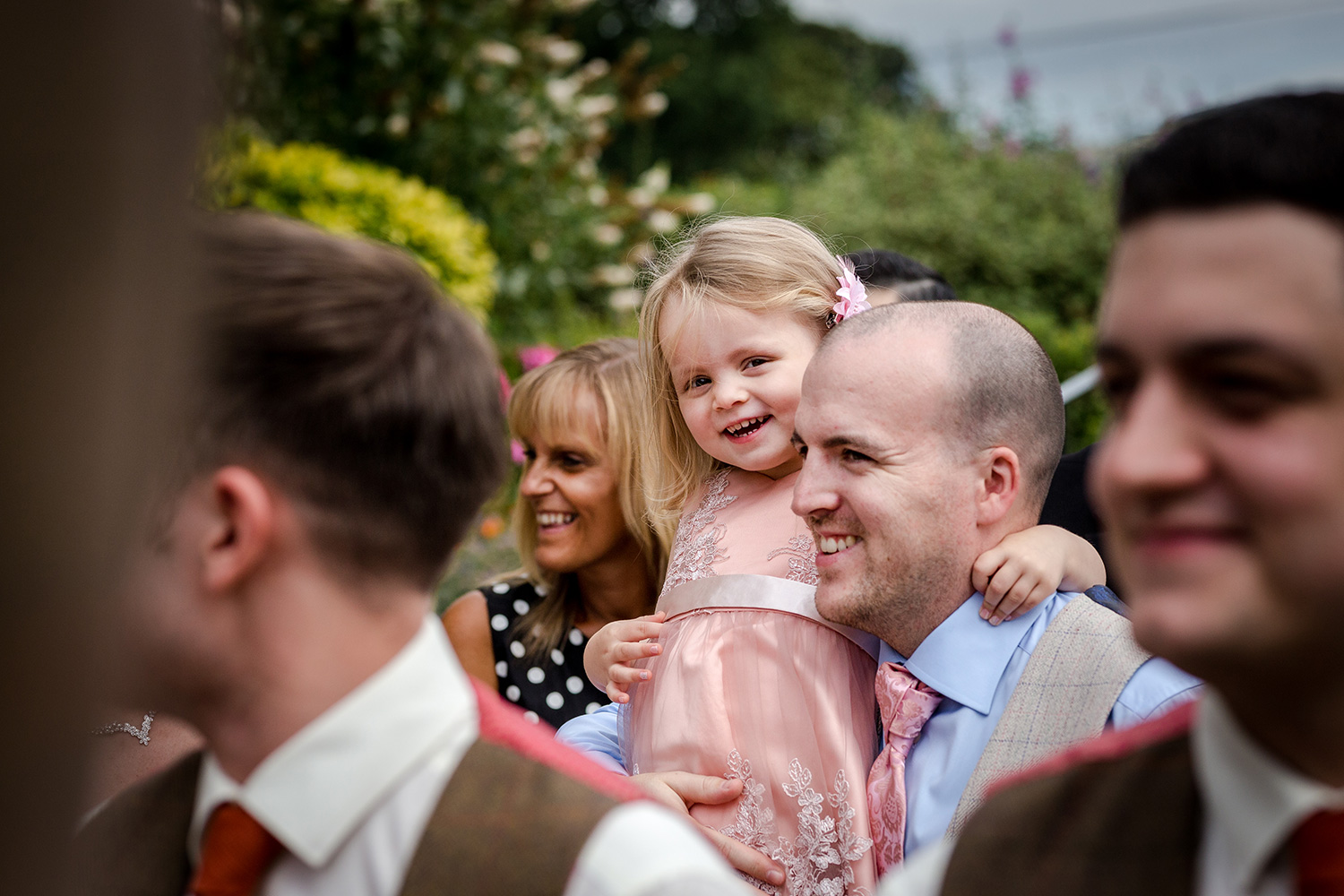 Outdoor ceremony in Cheshire