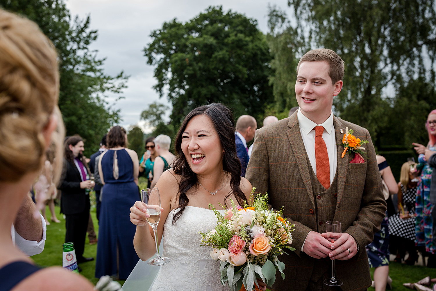 Hilltop Country House Wedding Reception