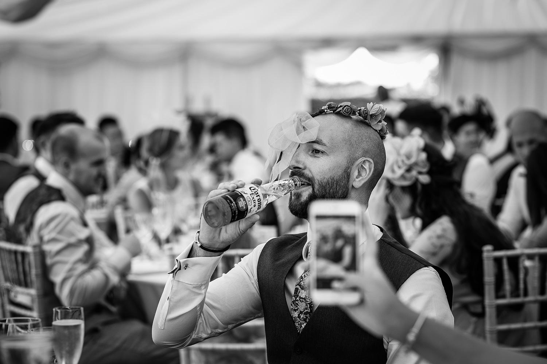Bridesmaids at a Cheshire wedding