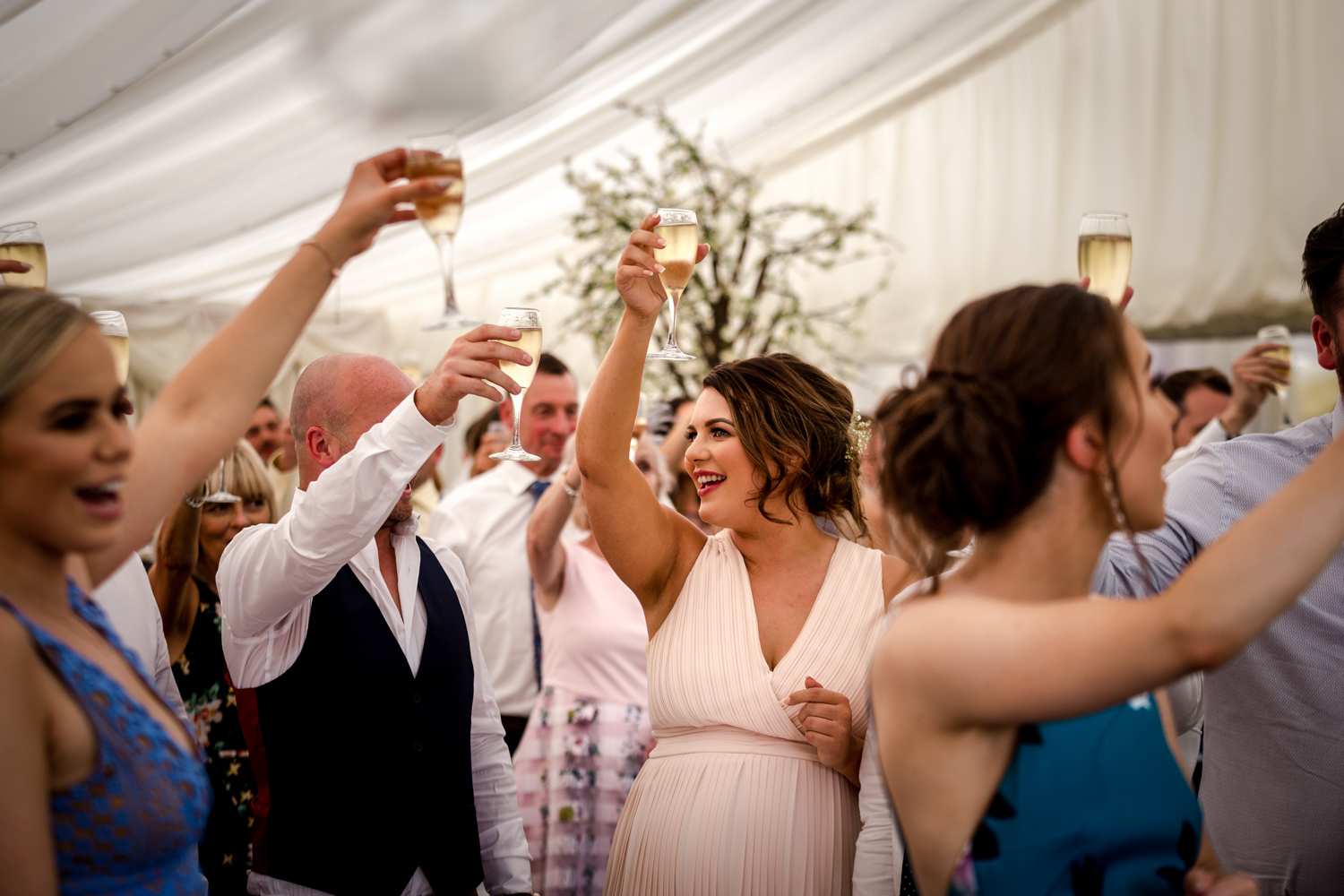 Wedding speeches at Nunsmere Hall in Chester