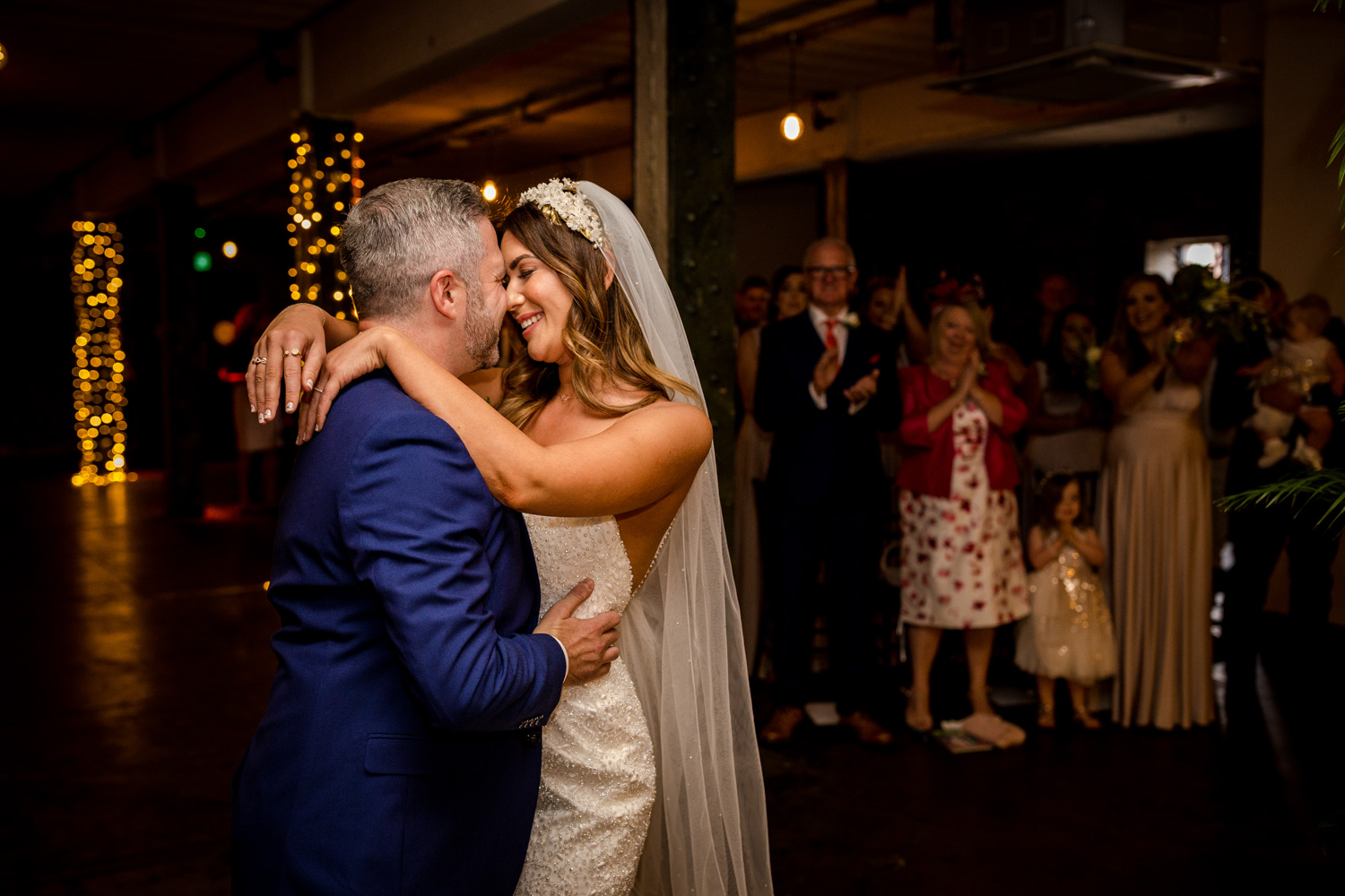 Victoria Warehouse Wedding ceremony