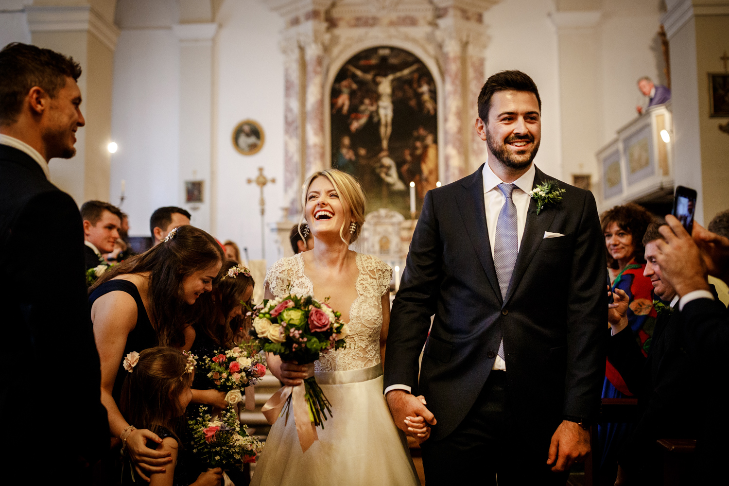 Villa Catignano wedding in Italy