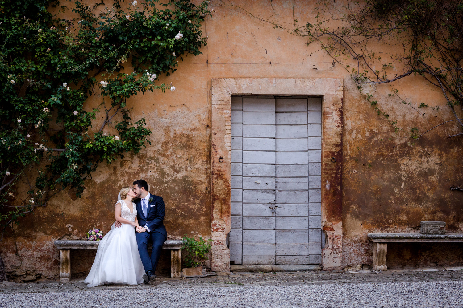 Villa Catignano wedding photography