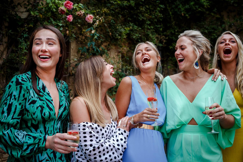 Villa Catignano wedding party