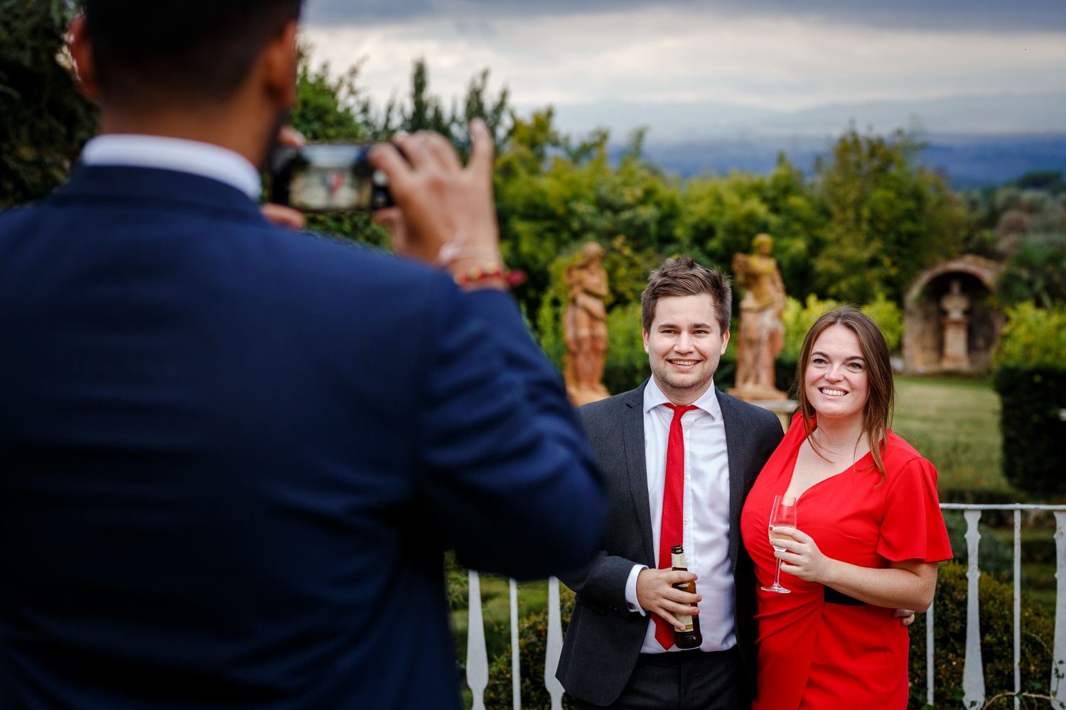 Villa Catignano wedding Italy