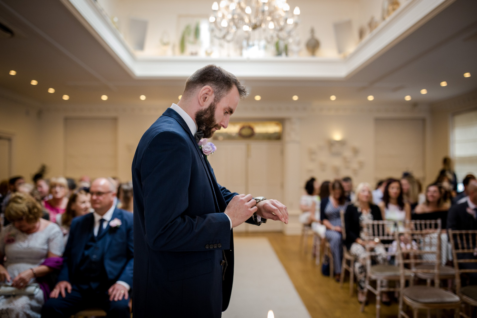 Ceremony at an Ashfield House Wedding