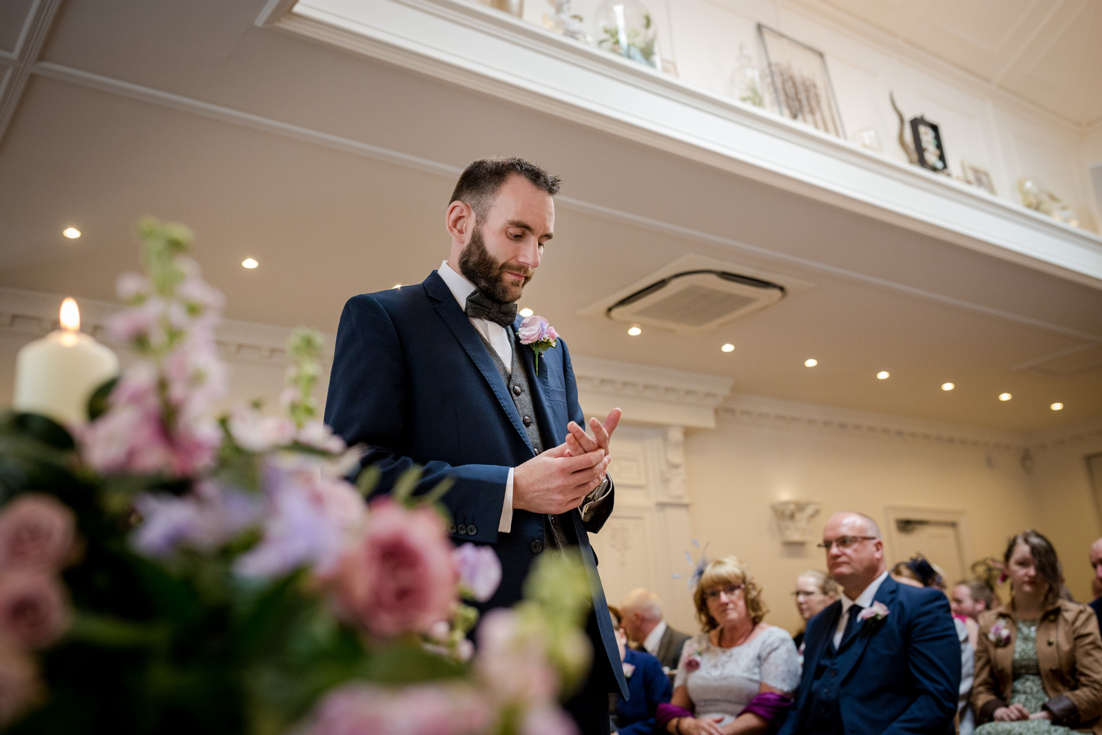 The Ceremony at an Ashfield House Wedding