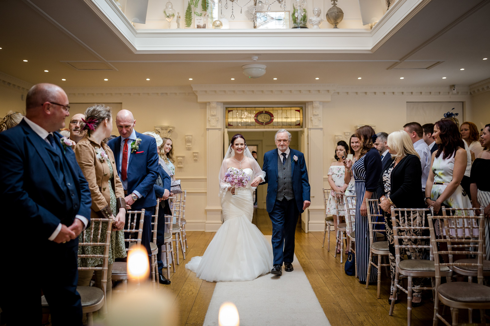 Ceremony at an Ashfield House Wedding in Wigan