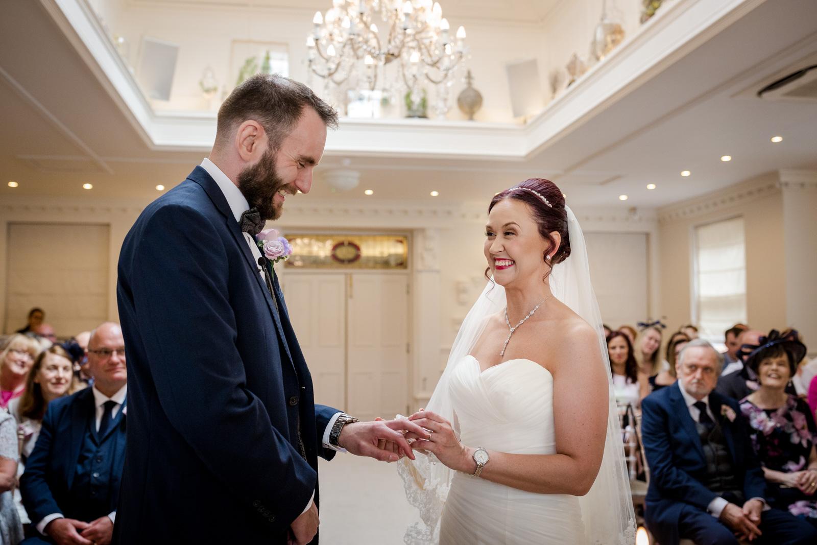 Ashfield House Wedding in Standish