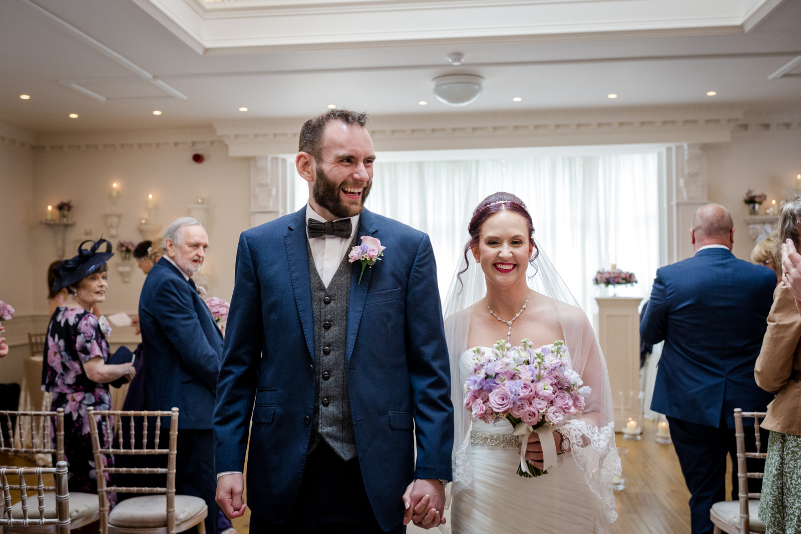Ashfield House Wedding Party